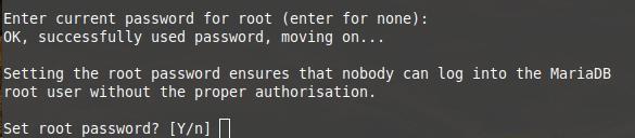 mysql secure installation 2