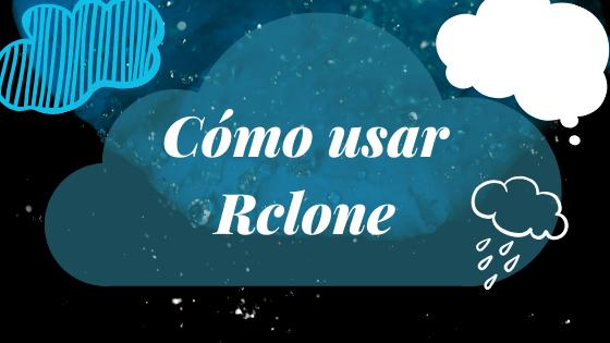 Como usar Rclone