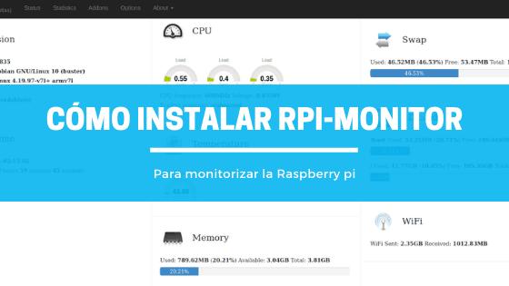 Cómo instalar RPI-Monitor