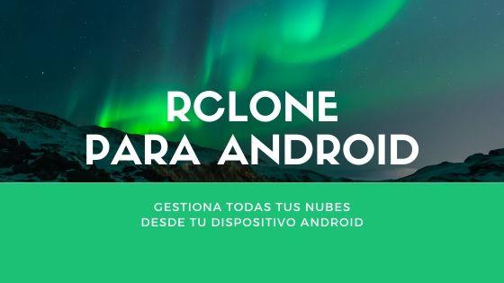 Rclone para Android