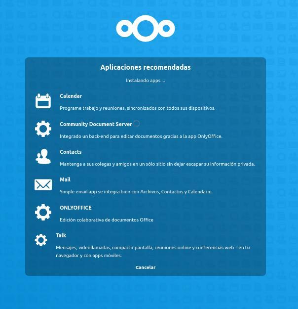 NextCloud Aplicaciones recomendadas